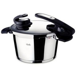 vitavit edition - szybkowar 4,5 l z elektronicznym asystentem gotowania vitacontrol® - 4,50 l od producenta Fissler