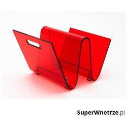 D2 Gazetnik 33x26cm os czerwony