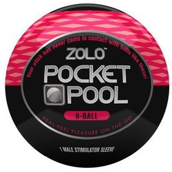 Kieszonkowy rozciągliwy masturbator Zolo Pocket Pool 8 Ball - produkt z kategorii- masturbatory i pochwy