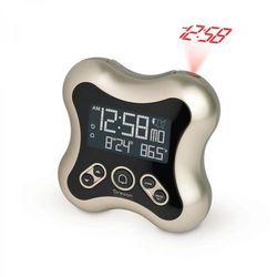 Zegar z projektorem rm331-tit srebrny + darmowy transport! marki Oregon