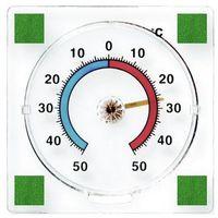 Termometr zaokienny Terdens bimetaliczny 77 x 77 mm (5901733000440)