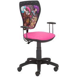 Obrotowe krzesło dziecięce MINISTYLE - Barbie 2