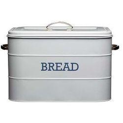 Kitchen craft Pojemnik na pieczywo  szary | odbierz rabat 5% na pierwsze zakupy >>, kategoria: chlebaki