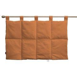 wezgłowie na szelkach, pomarańczowyszenil, 90 x 67 cm, madrid marki Dekoria
