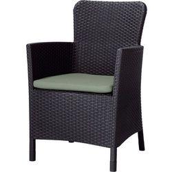 Fotel ogrodowy KETER Miami brąz - produkt z kategorii- Leżaki ogrodowe