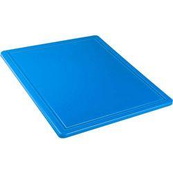 Deska do krojenia HACCP GN 1/2, z wycięciem, niebieska | STALGAST, 341324