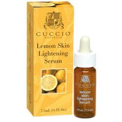 Cuccio  lemon skin lightening serum cytrynowe serum wybielające plamy pigmentacyjne, kategoria: serum do twar