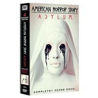 American Horror Story. Asylum, sezon 2 (4xDVD) - Brad Falchuk, Ryan Murphy (5903570156625)