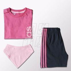 Komplet adidas Summer Set Gift Pack Kids S21400 z kategorii Komplety odzieży dla dzieci