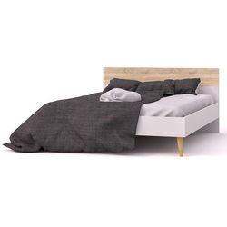 Łóżko oslo 140x200 w stylu skandynawskim marki Tvilum