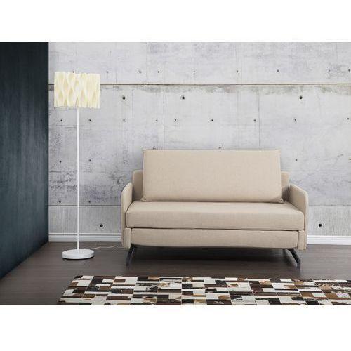 Sofa bezowa - kanapa - sofa do spania - rozkladana - BELFAST - sprawdź w Beliani