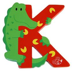 Spielmaus  drewniana literka k, kategoria: dekoracje i ozdoby dla dzieci
