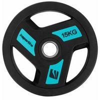 Obciążenie gumowane olimpijskie Insportline Herk 15 kg - 15 kg - produkt z kategorii- Obciążenia