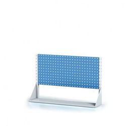 B2b partner Perforowany stojak z panelem na narzędzia, 1 piętro, podstawowe pole