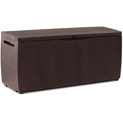 Skrzynia ogrodowa curver capri storage box 305 l brązowy + darmowy transport! marki Keter