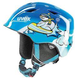 Dziecięcy kask narciarski  airwing 2 blue snowman xs (48-52 cm), marki Uvex