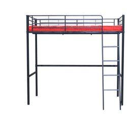 Łóżko antresola CLEVER – 90 × 190 cm – Kolor czarny