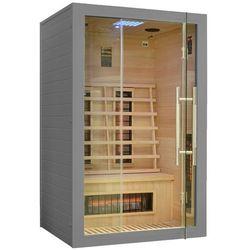 Sauna infrared z koloroterapią ea2r grey marki Home & garden