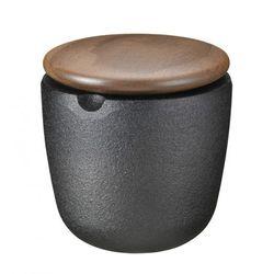 Skeppshult  - walnut pojemnik do przypraw wysokość: 7,5 cm