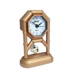 Atrix Mini zegar z wahadłem złoty #ak42