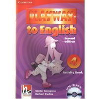 Playway to English 4 (2nd Edition) Activity Book (zeszyt ćwiczeń) with CD-ROM