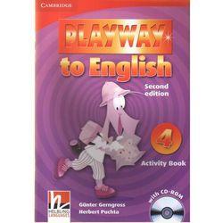 Playway to English 4 (2nd Edition) Activity Book (zeszyt ćwiczeń) with CD-ROM (kategoria: Nauka języka)