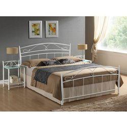 Łóżko Siena Biały 160, kolor biały