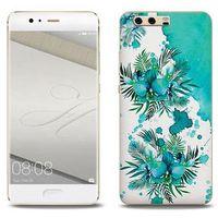 Fantastic Case - Huawei P10 Plus - etui na telefon Fantastic Case - turkusowa orchidea, ETHW506FNTCFC005000