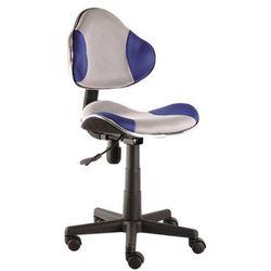 Fotel q-g2 niebieski szary marki Signal meble