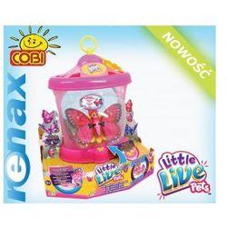 Little Live Pets Motylkowy Domek Z Motylkiem 2 COBI, marki Cobi Polska S.A. do zakupu w SKLEP Z ZABAWKAMI RENAX
