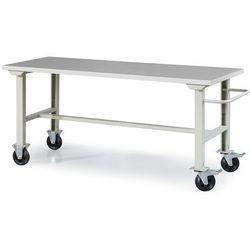 Mobilny stół roboczy SOLID 400, 2000x800 mm, winyl