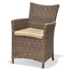 Fotel Kolanta - brązowy - produkt z kategorii- Krzesła ogrodowe