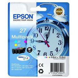 Epson oryginalny ink C13T27054020, 27, color, 3x3,6ml, Epson WF-3620, 3640, 7110, 7610, 7620 (8715946535050)