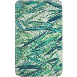 Bonprix Dywaniki łazienkowe z pianką memory zielony