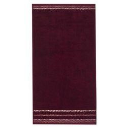 4home  ręcznik new bianna winowy