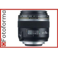 Obiektyw CANON EF-S 60 mm f/2.8 Macro USM, towar z kategorii: Obiektywy fotograficzne