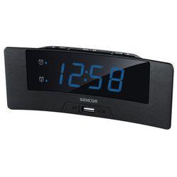 Sencor zegar z budzikiem sdc 4912 bu (8590669261895)