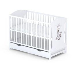 Skrzat miki 100 białe +szuflada łóżeczko 120x 60 odbierz swój rabat