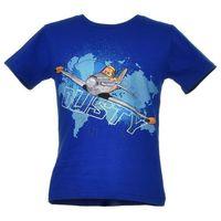 T-shirt z wizerunkiem bohaterów bajki Planes Samoloty - Kolorowy ||Granatowy