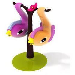 Solniczka i pieprzniczka paradise birds wyprodukowany przez Alessi