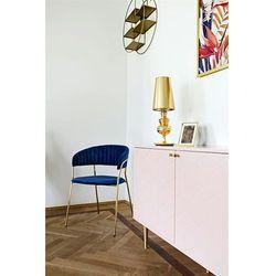 Lampa biurkowa QUEEN 18 - 1018T1.GOLD - King Home - Rabat w koszyku (5900168813656)