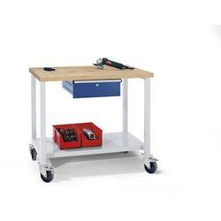Anke werkbänke - anton kessel Kompaktowy stół warsztatowy, blat z litego drewna bukowego, szer. x głęb. 1140x6