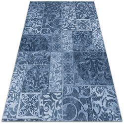 Modny uniwersalny dywan winylowy Modny uniwersalny dywan winylowy Antyczne kafelki