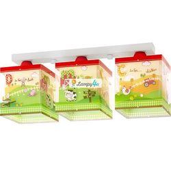 Dalber 64403 - plafon dziecięcy my little farm 3xe27/60w/230v