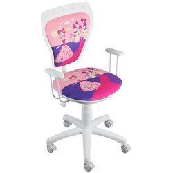 Nowy styl Obrotowe krzesło dziecięce ministyle white - princess daisy