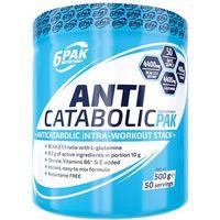 6pak  anticatabolic pak - 500g - clear orange