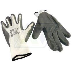 Rękawice robocze Geko szare 10 G73523