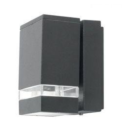Ogrodowa LAMPA ścienna AGNER 4W Elstead elewacyjna OPRAWA kwadratowa LED 12W kinkiet outdoor IP54 grafitowy, AGNER 4W