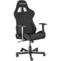 Dxracer krzesło obrotowe formula fd01/n, tkanina, czarne (fd01/n) (6949531968400)