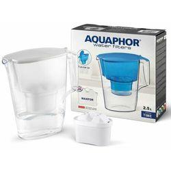 dzbanek filtrujący time 2,5 l + wkład b100-25 maxfor (biały) marki Aquaphor
